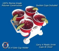 Deep Blue Marine Solo Cup Holder