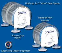 Deep Blue Marine Wrist Spool Leader Dispenser - For 3 Spools
