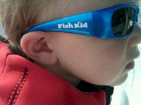Fish Kid Sunglasses Sydney Zebra