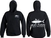 Grundens Eat Tuna Hoodie Black 3X