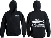 Grundens Eat Tuna Hoodie Black Medium