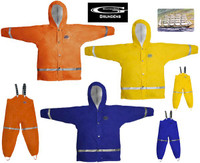 Grundens Zenith 293 Jacket Blue Size 4 years