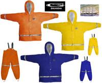Grundens Zenith 293 Jacket Orange Size 4 years