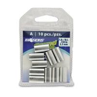 Hi Seas Aluminum Sleeve-A 10 Pack