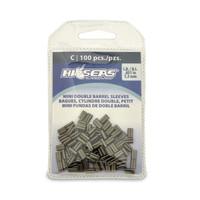 Hi Seas Mini Double Sleeve 1.3mm 100 Pack