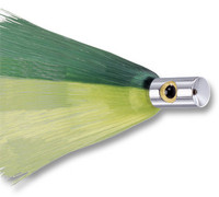 Iland Out-Rider Lure Chrome Silver Head Green/Yellow