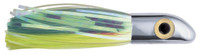 Ilander Lures- Iland Hoo-La Hood Chrome Head Green/Chart Skirt