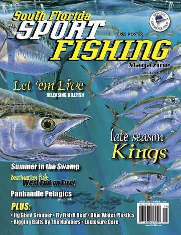 Magazine 3 year subscription florida sport fishing for Florida sport fishing magazine
