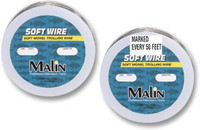 Malin Stainless Wire 300 Ft Spools - Premarked every 50 ft 60#