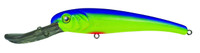 Manns Stretch 30 Deep Diving Lure Chartreuse Blue
