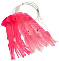 Moldcraft Squid Daisy Chain 6in Hot Pink