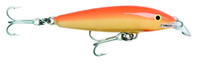 Rapala Countdown Magnum Size 18 Gold Fl. Red