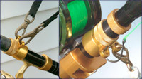 Reel Colors Rod Rings - Gold - Fits ARS-3  Inside Diameter = 1.17