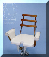 Scopinich Sailfish Fighting Chair STAINLESS STRIKING ARMS OPTION