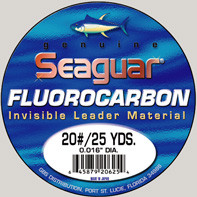 Seaguar Fluorocarbon Leader Material 25 Yard Spool - 1 pound test