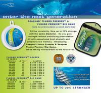 Seaguar Premier Fluorocarbon Spool 100# 25 Yd