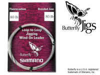 Shimano Butterfly Jig Windon Leader 30#
