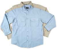 Shimano Vented Guide Shirt Khaki XXL