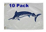 Taylor Made Blue Marlin Flag Ten Pack