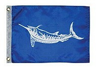 Taylor Made White Marlin Flag