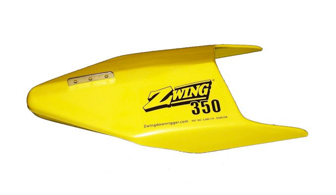 Z-Wing Down Planer Model 350 Yellow