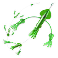 Squidnation Flippy Floppy Daisy Chain Green Sparkle
