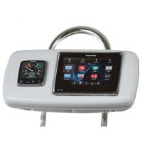 """Navpod GP1040-19 SystemPod Pre-Cut f\/Raymarine ES97\/ES98 & One Instrument f\/9.5"""" Guard"""