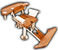 Release Marine Fighting Chair - Classic Teak Tuna