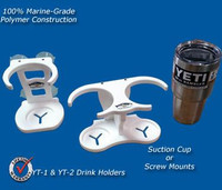 Deep Blue Marine Yeti Rambler Holder - Dual