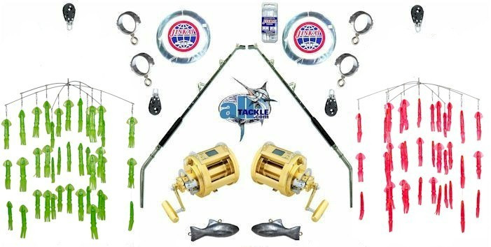 Alltackle Dredge Kit Daiwa MP3000 Squid Dredges
