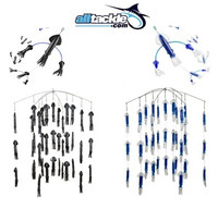 Alltackle Dredge & Teaser Kit - Black & Blue