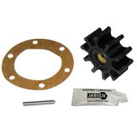 """Jabsco Impeller Kit - 10 Blade - Neoprene - 2"""" Diameter x 7\/8""""W Pin Drive Insert"""