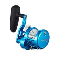 Maxel Ocean Max Lever Drag Jigging Reel - Blue OM08B