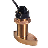 Raymarine B744V Bronze Thru Hull Triducer w\/45' Cable