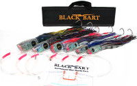Black Bart Tournament Blue Marlin Rigged Lure Pack Single Hooks