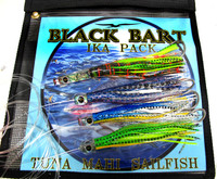 Black Bart Ika Lure Pack