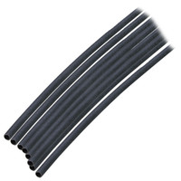 "Ancor Adhesive Lined Heat Shrink Tubing (ALT) - 1\/8"" x 6"" - 10-Pack - Black"