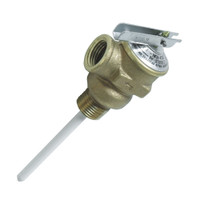 "Camco Temperature & Pressure Relief Valve - 1\/2"" Valve w\/4"" Probe"
