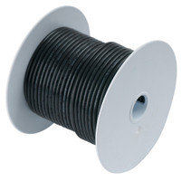 Ancor Black 10 AWG Tinned Copper Wire - 25'