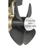 Quick Replacement Propeller f\/Left Handed BTQ 185-55, BTQ 185-75 & BTQ 185-95 Bow Thruster
