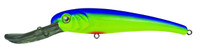 Manns Stretch 25 Deep Diving Lure Chartreuse Blue