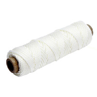 Tigress 100' of 375lb Nylon Braid - White