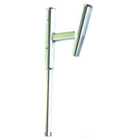Tigress Dual Aluminum Kite Rod Holder - Straight Butt