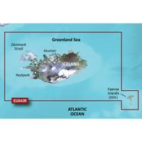 Garmin BlueChart g2 - HXEU043R - Iceland & Faeroe Islands - microSD\/SD
