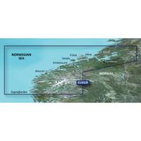 Garmin BlueChart g2 - HXEU052R - Sognefjorden - Svefjorden - microSD\/SD