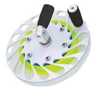Reel Colors Pancake Bridge Teaser Reel - Powder Coat White