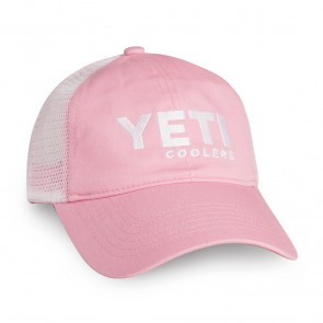 Yeti Trucker Hat Pink