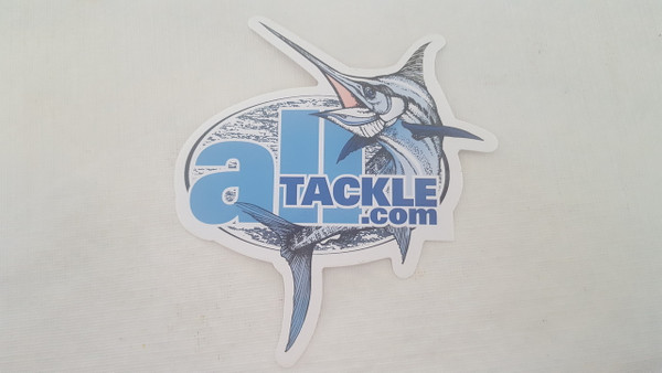 Alltackle classic logo decal