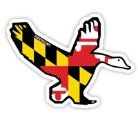 Shore Life Maryland Goose Decal