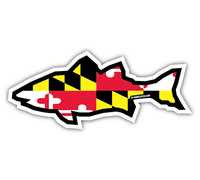 Shore Life Maryland Fish Decal